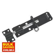 Brenton Gate Bolt Black 180mm