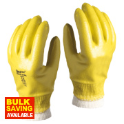 Skytec Neon Xtra Neon Xtra Gloves Yellow Large