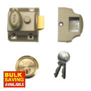 Yale 706 Night Latch Bronze 40mm Backset