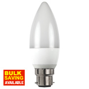 LAP Candle LED Lamp Opal BC 6W