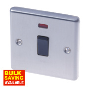 LAP 20A DP Switch with Neon Stainless Steel