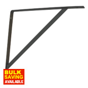 Heavy Duty Brackets Black 400 x 400mm Pack of 2