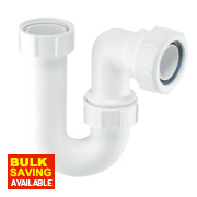 McAlpine Tubular 'P' Trap 32mm White
