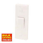1-Gang Architrave Switch White