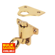 Fanlight Catch Polished Brass mm x mm