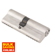 ERA 6-Pin Euro Cylinder Lock 40-45 (85mm) Satin Nickel