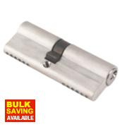 ERA 6-Pin Euro Cylinder Lock 40-45 (85mm) Satin Nickel