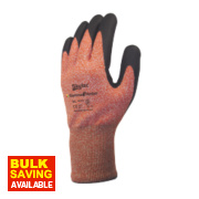 Skytec Gamma 3 Gamma 3 Nitrile Foam Palm Gloves Amber Large
