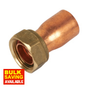 Yorkshire Endex Straight Tap Connector NS62 22mm x ¾