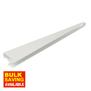 RB UK U-Brackets White 220 x 13mm Pack of 10