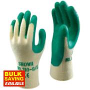 Showa 310G Grip Gloves Green Large