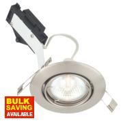 LAP Adjustable Round Low Voltage Downlight Brushed Chrome 12V