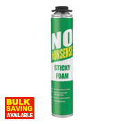 No Nonsense Expanding Sticky Foam Gun Grade 750ml