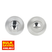 Jedo Thumbturn & Release Polished / Satin Chrome 50mm