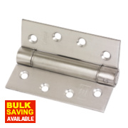 Companion Hinge Satin Stainless Steel 76 x 102mm
