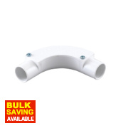 Inspection Bends 25mm White