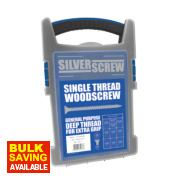 Silverscrew Woodscrews Grab Pack Double-Countersunk 1000Pcs