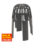 Balloon Leaf Guard Black