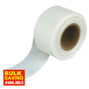 No Nonsense Plasterboard Joint Tape / Scrim Neutral 48mm x 90m