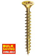 Spax Single Thread Woodscrews 3.5 x 25mm Pack of 200
