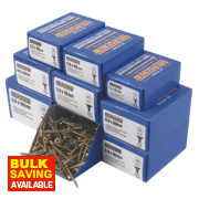 Goldscrew Woodscrews Trade Pack Double-Countersunk 1400Pcs