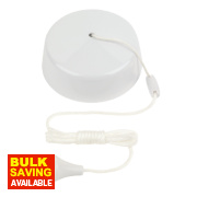 2-Way 10AX Ceiling Pull Cord Switch