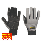 Stanley Performance Full Hand Gloves Grey Large
