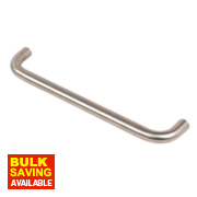 Office D Pull Handle Satin Stainless Steel 300mm Pack of 2