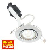LAP Adjustable Round Low Voltage Downlight Polished Chrome 12V