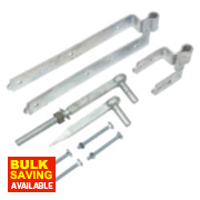 Standard Gate Fitting Kit Spelter Galvanised 90 x 460 x 70mm