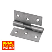 Rising Butt Hinges Self-Colour 70 x 73mm Pack of 2