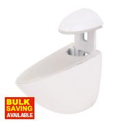 Adjustable Medium Weight Bracket White