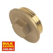 Brass Flanged Plug 1