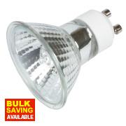 Sylvania Hi-Spot Home Mains Voltage Halogen Lamp GU10 700Lm 75W Pk5