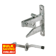 Auto Gate Catch Galvanised 180mm