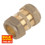 Straight Coupling 22mm Pack of 10