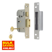 ERA 5-Lever Mortice Sashlock Satin Nickel 2