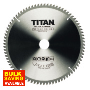 Titan TCT Saw Blades 80T 250mm x 16 / 25 / 30mm