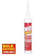 No Nonsense Fire Retardant Silicone White 310ml
