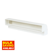 Manrose Vertical 90° Bend White 225mm