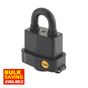 Yale Weatherproof Open Shackle Padlock Steel 62mm