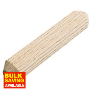 Precision Multi-Grooved Dowel Pins 8 x 30mm 100 Pack