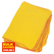 Dusters Yellow Pack of 10