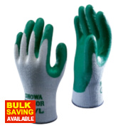 Showa 350R ThornMaster Nitrile Gloves Green X Large