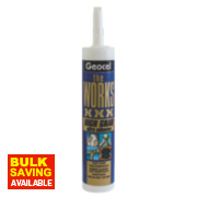 Geocel The Works XXX Solvent-Free Grab Adhesive White 290ml