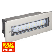 Dakota LED Brick Light Stainless Steel 0.07W