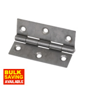 Steel Fixed Pin Hinges Self-Colour 65 x 44mm Pack of 20