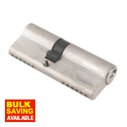 ERA 6-Pin Euro Cylinder Lock 35-45 (80mm) Satin Nickel