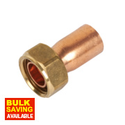 Yorkshire Endex Straight Tap Connector NS62 15mm x ½