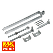 Adjustable Gate Kit Galvanised 90 x 610 x 165mm